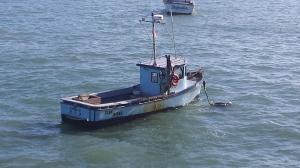 Crab Boats Sit Idle